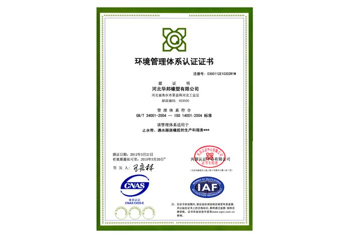 环境管理体系中文